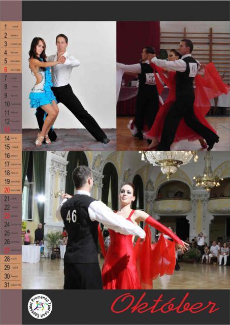 k) Promenád naptár október